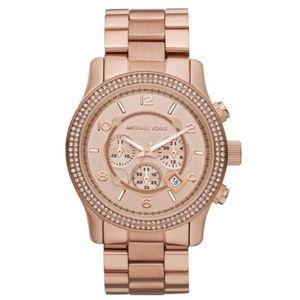 Michael Kors Rose Gold Chronograph Watch MK5576